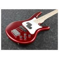 Ibanez Electric Bass Guitar - Candy Apple Matte - SRMD200-CAM - New Boxed